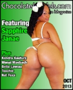 Sapphire Janae, October 2013 Issue