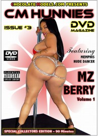 Issue #3 - CM Hunnies DVD Magazine Featuring Mz Berry