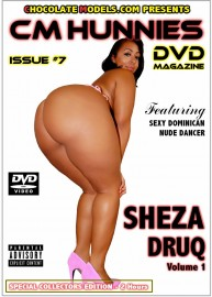 Issue #7 - CM Hunnies DVD Magazine Featuring Sheza Druq